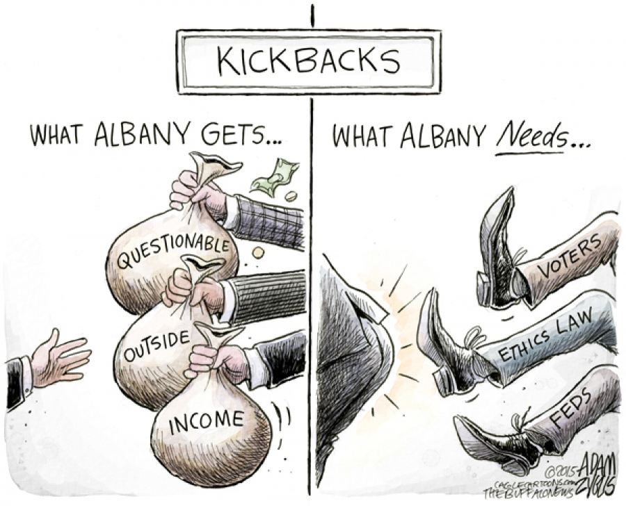 This week in Albany with bloggers Michael Bouldin and Cynthia Kouril
