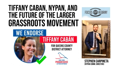 Stephen Carpineta talks about the victory of Tiffiny Caban in Queens
