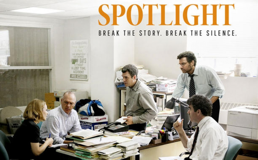 A discussion of Spotlight and the Child Abuse Scandal in the Catholic Church