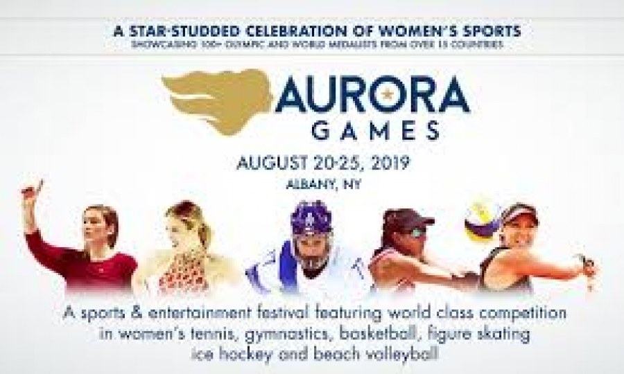 Mary Rozak talks about the impact of the Aurora Games in Albany
