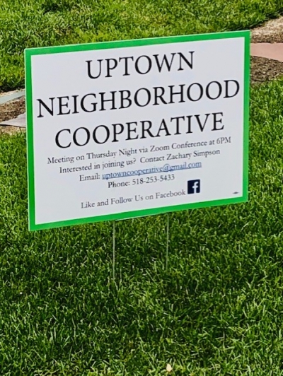 Zach Simpson updates us on the Uptown Neighborhood Cooperative initiative